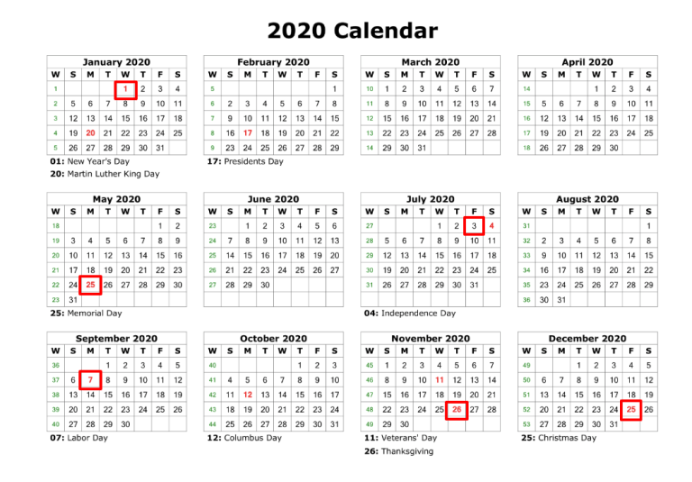 List Of Federal Holidays 2020.When Are Ups Holidays 2020