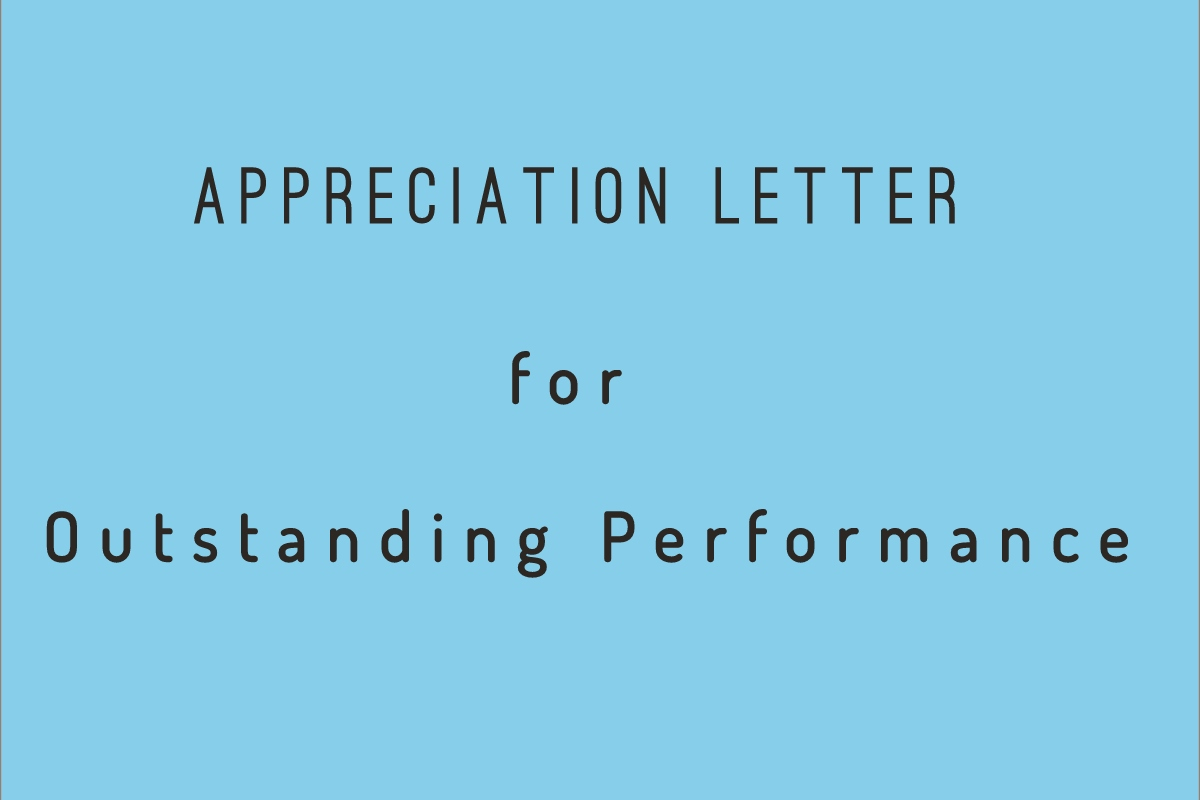 Sample Employee Performance Letter from dailyprintablecalendar.com