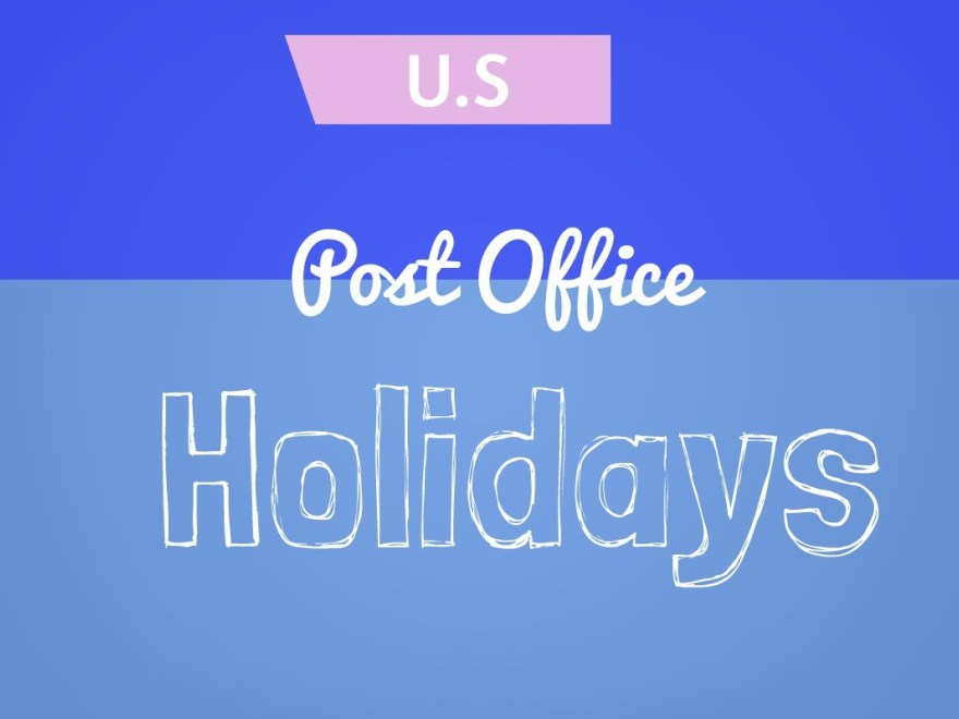 what are the usps holidays for 2020